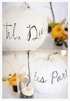 Friday the 13th- Goth wedding black and white wedding
