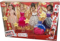 Disney High School Musical 3 Senior Year Exclusive 10 Inch Doll 4 Pack Set - Ready 4 Prom with Kelsi, Sharpay, Gabriella and Taylor Plus Bonus Corsage Just For You High School Musical,http://www.amazon.com/dp/B001TIGB8W/ref=cm_sw_r_pi_dp_G6u5sb0P5CTPKVJE
