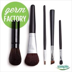 Such good tips!  Be sure to wash your makeup brushes once a month -- so important for healthy skin!  @simpleskincare