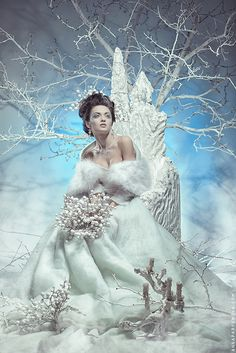 love roses are red: Photo Winter Princess, Ice Princess, Snow Queen, Ice Queen, Fantasy Gowns, Fantasy Art, Snow Maiden, Snow Girl, Fairytale Fashion