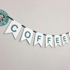 Starbucks Themed Banner