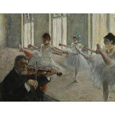 Degas, The Rehearsal