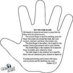 My Prayer Hand