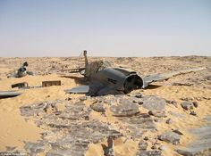 Lost in the desert for 70 years the remains of a RAF Kittyhawk recently found. Pilots remains have yet to be found.