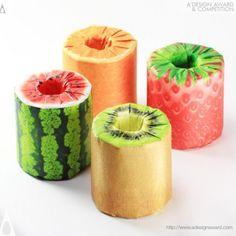 The Fruits Toilet Paper by Kazuaki Kawahara