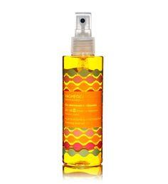 Olio solare media protezione, protegge i capelli, riducente sul corpo! !!
