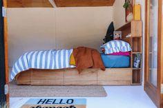 Al and Imo Custom Timber Furniture Timber Furniture, Bedroom Furniture Design, Pallet Furniture, Furniture Ideas, Bedroom Ideas, Timber Bed Frames, Timber Beds, Tall Bookshelves, Custom Bookshelves