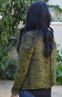 #257 Teagan Cardigan PDF Knitting Pattern #knitting #SweaterBabe.com
