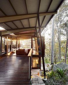 Island House is a prefabricated modular house located on Scotland Island, north of Sydney, Australia. Island House was designed by walknorth