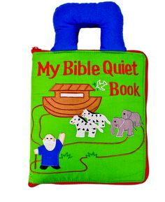 quiet books for church, both bible and book of mormon themes