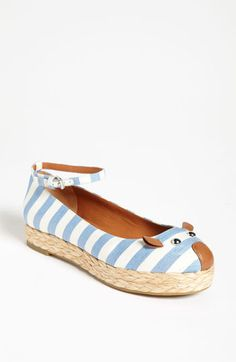 marc by marc jacobs mouse espadrille flats.