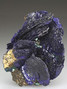AZURITE Minerals from Chessy-les-Mines, Rhone, Rhone-Alpes, France, Europe at Crystal Classics