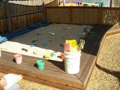 Είμαι παιδί: Αμμοδόχος για παιδιά