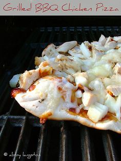 Grilled BBQ Chicken Pizza by Confabulation in the Kitchen
