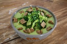 Tout Cru Dans Le Bec: Crème de brocoli tout cru!