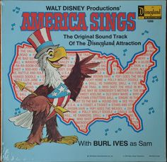 America Sings, 1974--the year I went to Disneyland, age 4.
