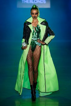 The Blonds at New York Fashion Week Spring 2019 - Runway Photos New York Fashion, Runway Fashion, High Fashion, Fashion Show, Fashion Looks, Fashion Outfits, Womens Fashion, Fashion Design, Space Fashion
