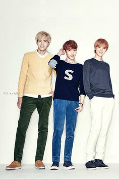 EXO for IVY CLUB : Kris, Lay & Luhan