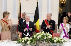 State Banquet - Germany President state visit to Belgium