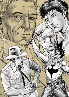 ...in memory of Sergio Bonelli...