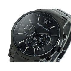 Armani black luxus watch