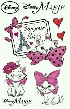 Aristocats: Marie R. Disney Dream, Cute Disney, Disney Magic, Disney Films, Disney Pixar, Walt Disney, Aristocats Party, Marie Cat, Gata Marie
