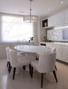 Projeto Mattos Design & Interiores Sala de Almoço