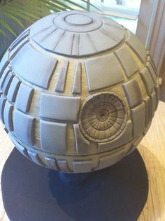 Death Star Cake---this is what Patrick has asked me to make him for his birthday.  Oh...boy....