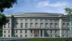 Das Stue Hotel - Berlin  Former Danish Embassy. Built in 1940 as part of Albert Speer's Germania plan, the landmark building was recently restored as a luxury design hotel