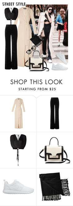 """Street Style"" by ilona-828 ❤ liked on Polyvore featuring The Row, Emilio Pucci, Tome, Kate Spade, NIKE, New Directions, Linda Farrow, women's clothing, women and female"