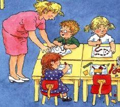 Dagritmekaarten Dagmar Stam School Organisation, Classroom Organization, Classroom Management, School Daze, Art School, Back To School, School Bulletin Boards, Good Grades, Cute Pictures