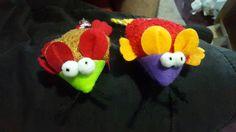 Feliiz Navidaad! el regalo de Allen... un par de ratones.