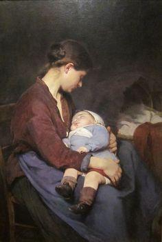 Elizabeth Nourse, La mere, 1888