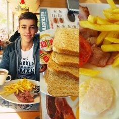 Breakfast with family makes it awesome no matter where you are.