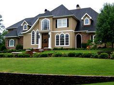 Exterior Paint Color Combinations   photograph above, is part of Paint Color Ideas for House Exterior ...
