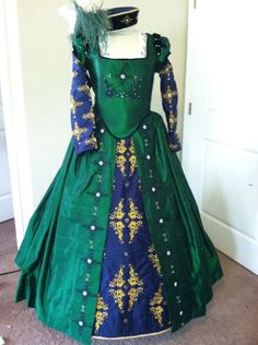 Custom Elizabethan Costume  LAY AWAY AVAILABLE by DesignsFromTime, $980.00