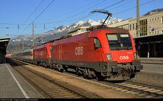 1116 073 ÖBB Austrian State Railways 1116 at Bludenz, Austria by Reinhard Reiss
