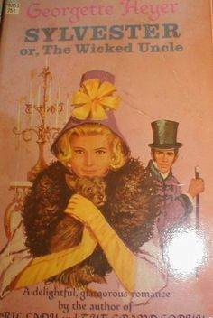 This is the edition I have with one of the worst covers! A debutante snubbed by an older man writes a novel about High Society with him as the villain. To her dismay the book becomes the talk of London. Bad Cover, Cover Art, Romance Novel Covers, Romance Novels, Georgette Heyer, Good Books, Older Man, High Society, Authors