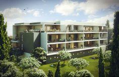 #Perspective #3D pour la construction de logements de 1053m2 #architecture #immobilière #rendu #studiodecreation