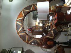 Great Kilim mirror.