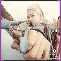 Rhododendron Cosplay at Cosmania 2016 (Philippines) as Legolas from The Lord of the Rings film series. Photography by KERSTIE / Craft & Shoot. Check out blog post to see more photos. http://craftandshoot.com/cosmania-2016-day-2/