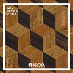Mix Wood Cubes Tongue And Groove, Wood Species, Decoration, Teak, Tropical, Flooring, Cubes, Closer, Home Decor