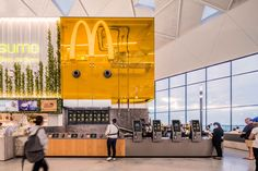 Landini Associates — McDonald's Sydney Airport