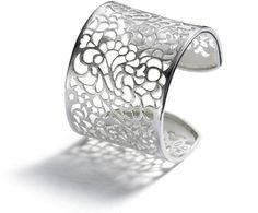 Irina Bischoff - filigree cuff bracelet