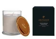 Aromage Luxury Fragrant Candle - Black Vanilla & Sandalwood - 100g  #Luxury #oils #reed #diffuser #thefragranceroom #soy #Bestprices #candles #madeinaustralia #sale