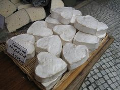Coeur de Neufchatel has been made in the Normandy region of France in the shape of a heart since the 6th century