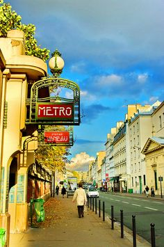 42 bis, rue de Sèvres, Metro Entrance, Paris VII