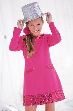 From CWDkids: Sequin Shift Dress