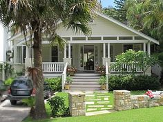 Our inspiration for a weatherboard-style home <3