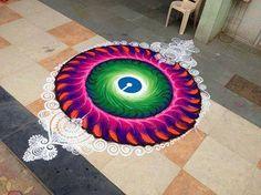 Rangoli Designs Latest, Latest Rangoli, Colorful Rangoli Designs, Rangoli Designs Diwali, Diwali Rangoli, Beautiful Rangoli Designs, Kolam Designs, Indian Rangoli, Mehndi Designs